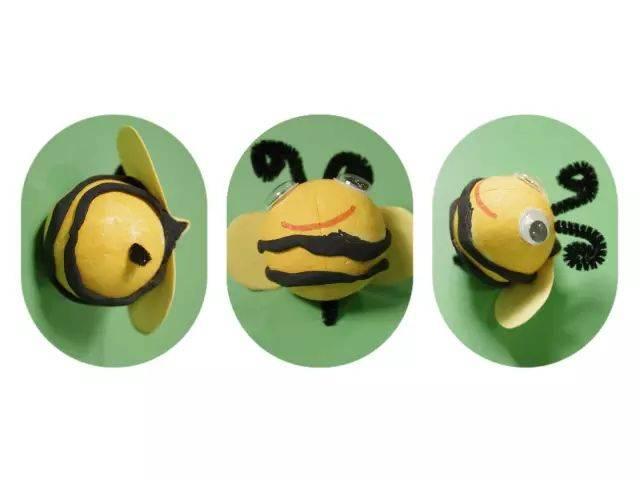 手工制作丨春天里的小蜜蜂