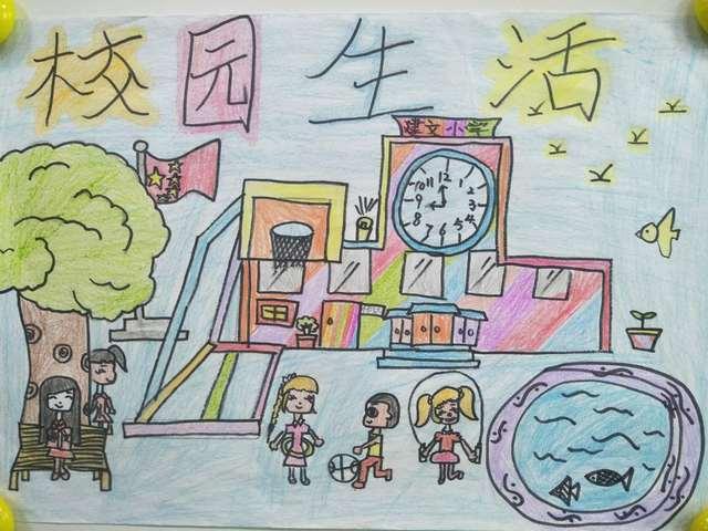 巧手画龙新 建文小学四年级绘画作品上线,快来支持你喜爱的作品吧图片