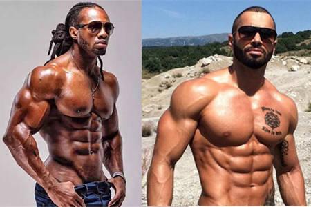 体育健身界登顶人物,乌利塞斯与拉扎尔安格洛夫,他们腹肌训练方式的