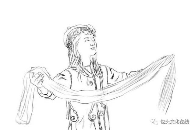 文化驿站——你知道蒙古族五种颜色哈达的意义吗?图片