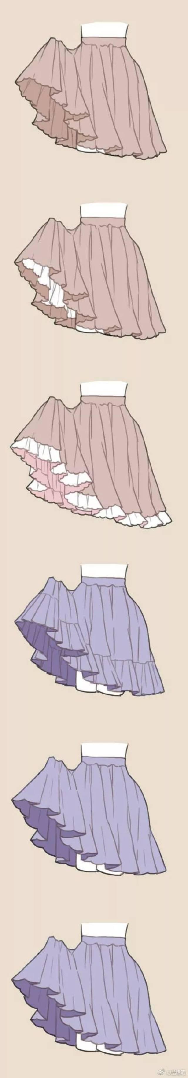 每一天,都要做一个小公主 lolita小裙子画法