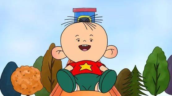 2004年国产动画片《大耳朵图图》讲述了三岁小男孩胡图图快乐成长中