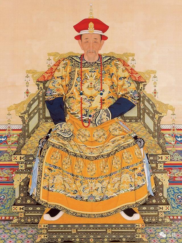 顺治皇帝_清朝历代皇帝画像