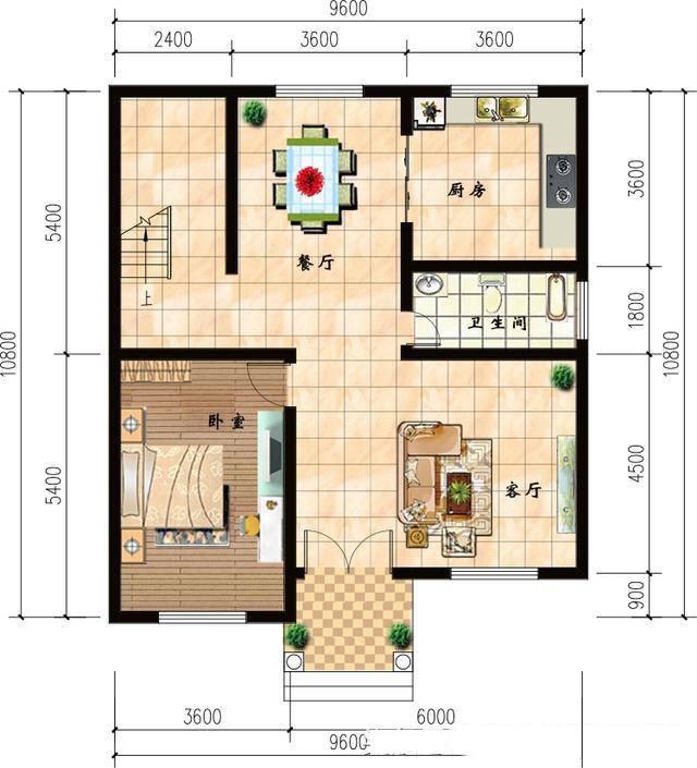 3套三层农村别墅设计户型图,最后一套只要25万