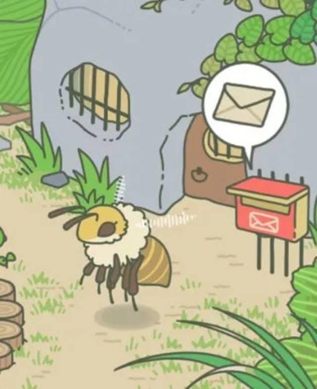 """除了蜗牛还有一只叫""""ぶんぶん""""的小蜜蜂朋友↓图片"""