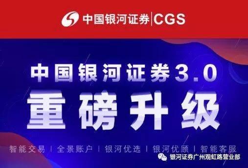 重磅升级 | 中国银河证券最新手机交易软件客户