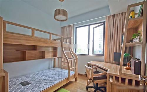 儿童房高低床装修效果图 孩子们已经等不及了图片