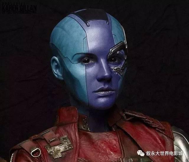 看了这张剧照大家一定认识了她就是银河护卫队里灭霸女儿卡魔拉的妹妹
