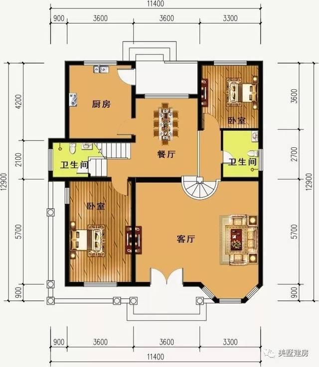 农村宅基地60平方设计图展示