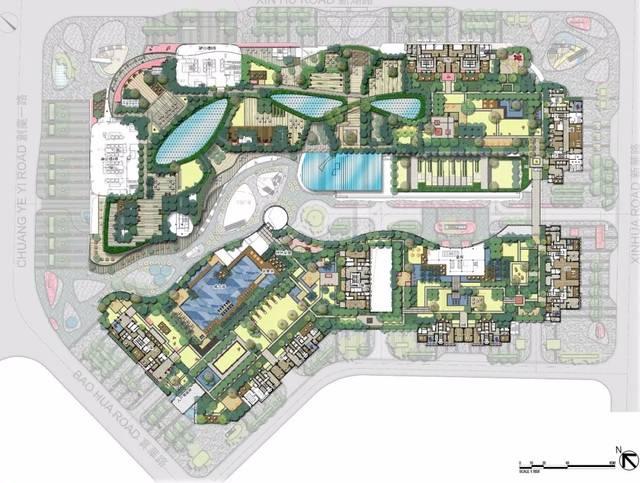 方城全城规划图