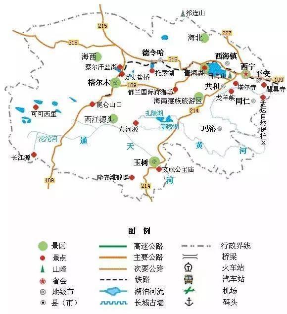 推荐  房车自驾去哪玩,看看这份最新出炉的中国旅游简图