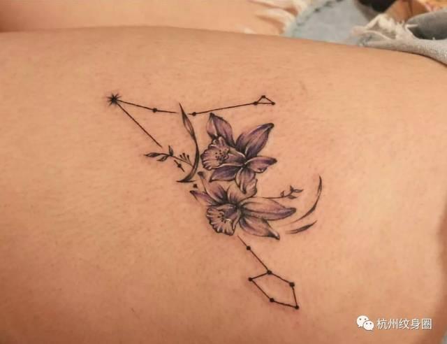 tattoo | 纹身素材: 双鱼座(pisces)