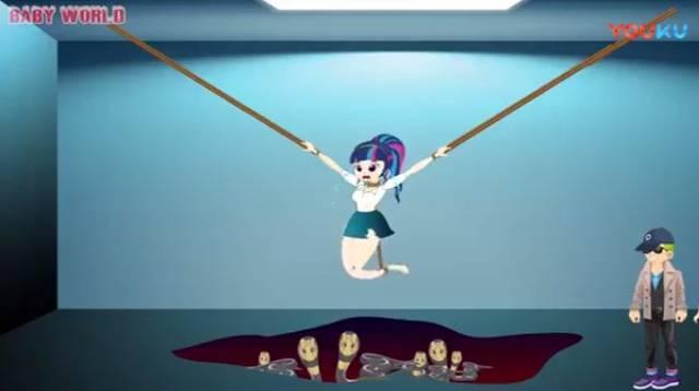 搜索了一些孩子常看的动画片,就看到了这样的画面: 真人版的长发公主图片