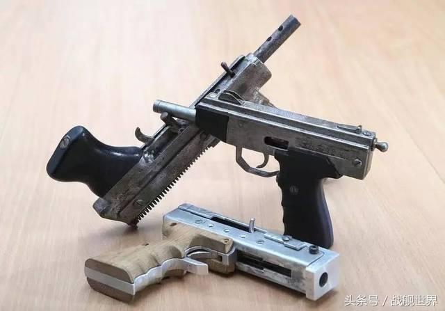 微型冲锋_三把微型冲锋手枪.
