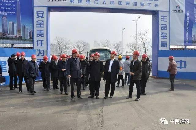 【品牌建设】江苏省住建厅来海门人民医院项目开展安全生产工作考核