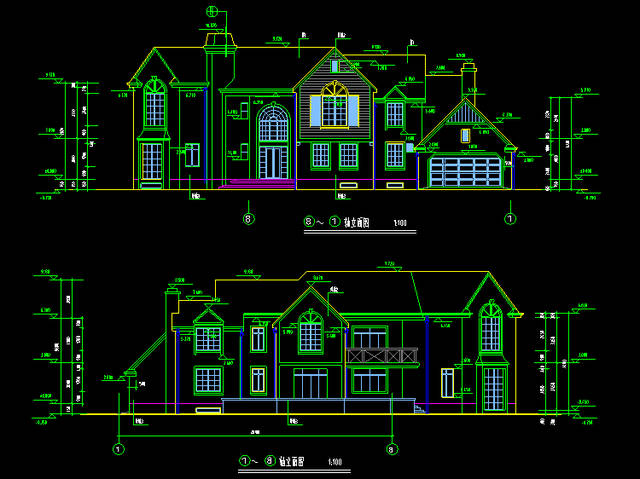 百套建筑设计施工cad图纸获取http://www.xunjiecad.