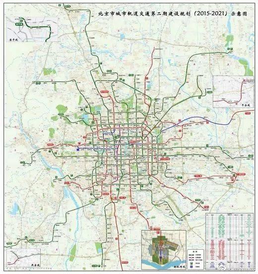 咱们密云家门口终于有地铁站啦!北京2021年地铁规划全图公布!