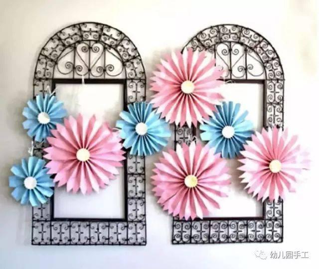 一款非常精美的牡丹花纸花的折法,下面是diy制作图解, 喜欢纸艺的mm