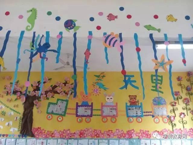 环境布置:100款幼儿园春天主题墙环创,实在太美了!(快图片