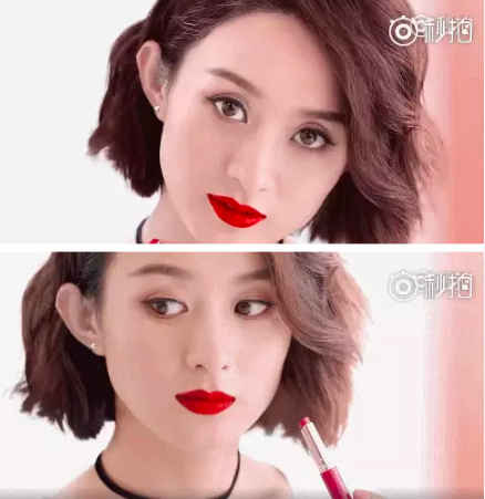 赵丽颖被嘲又老又土?短发红唇太吓人,网友:这是得罪化妆师了吧