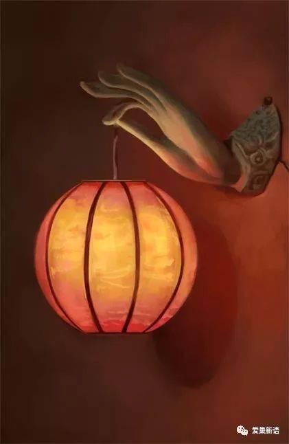 腊月佛灯 作者-阿伟 点上一份祝福 在灯亮起来的时候 在这人间佛教图片