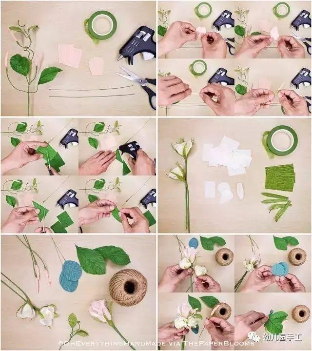 【皱纹纸手工】幼儿园皱纹纸手工制作 吊饰,美爆了!简直可以以假乱真