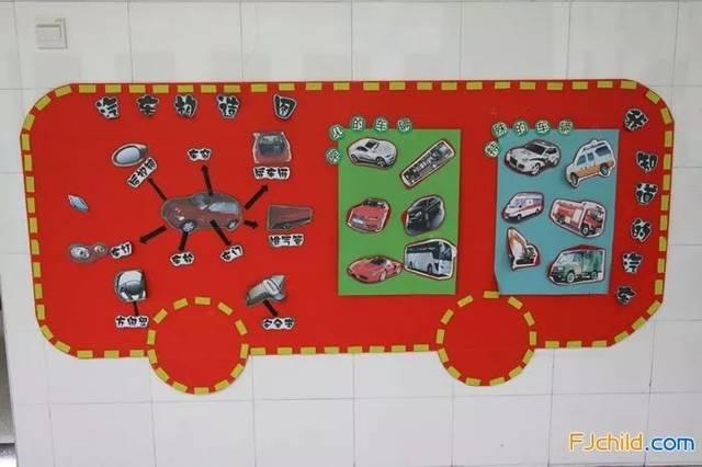 和车有关的手工制作和主题墙布置(折纸,泥工,旧物利用