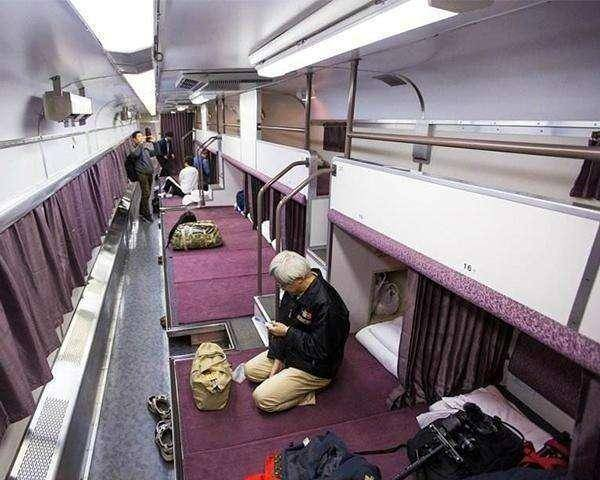 旅行中各国火车卧铺到底是什么样子?网友:柬埔寨是来