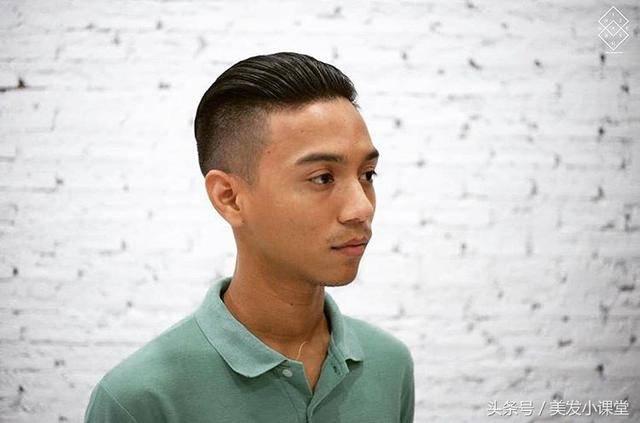 男生背头油头大全,剪这样的发型,简单干净又利索