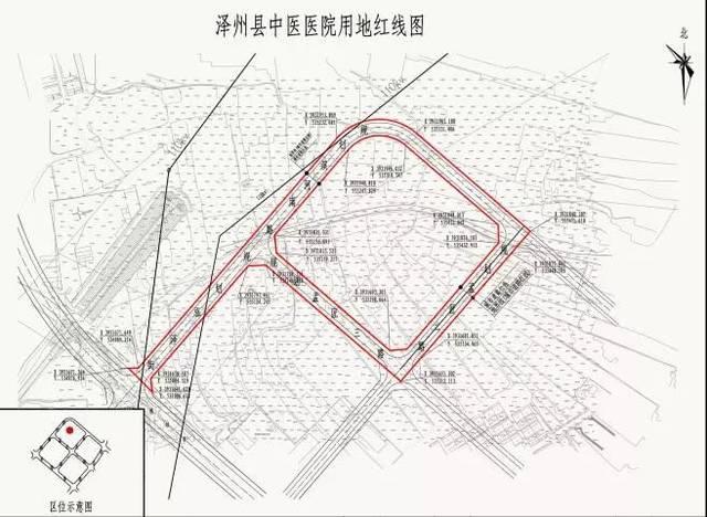 【关注】晋城最新城市规划大揭密!涉及医院,道路,城中