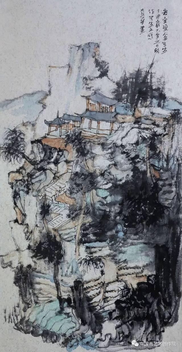 中国画艺术创作院导师王贵华祝:各位老师,同学小年快乐!图片