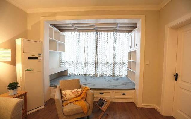 15万含家具家电,天花板走石膏线,最喜欢客厅阳台做榻榻米床!
