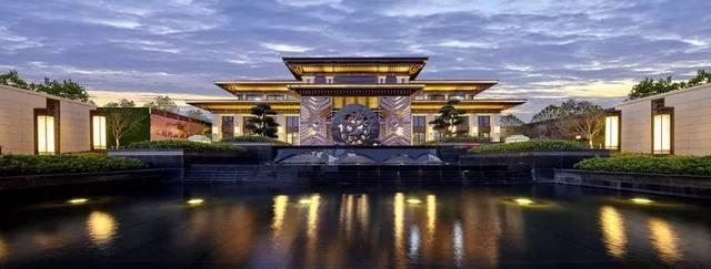 融創中梁首府壹號在文脈上,與中國傳統建筑一脈相承,同時又有效地融合