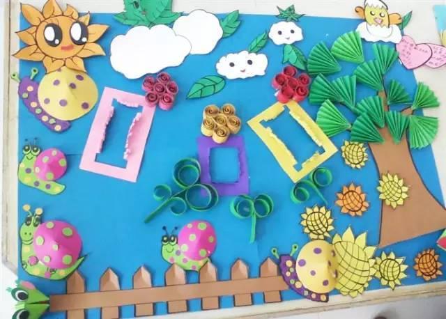 【春季换创】幼儿园关于春天的主题手工+环创