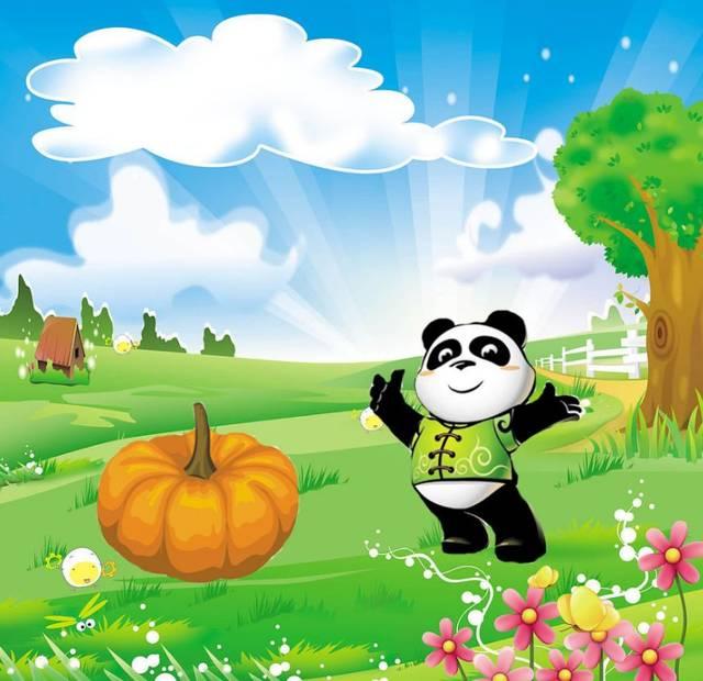 【迪涛之声】英语故事《a clever panda》