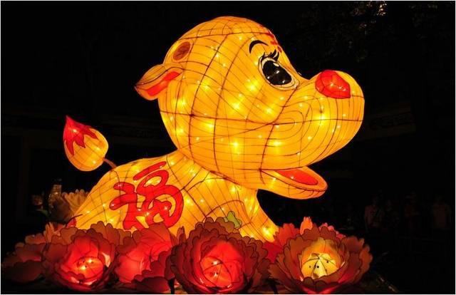 跟随手工艺人体验现场制作元宵花灯 这个周末,带上宝宝们 来武汉保利图片
