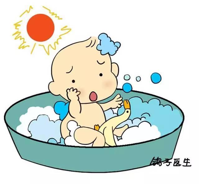 每到冬天,妈妈们都会为宝宝洗澡犯愁,冬季寒冷,稍有不慎宝宝很易感冒.图片