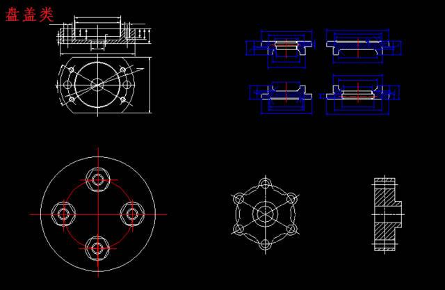 机械设计cad图纸规范 附cad机械设计常用图块模型 需要可免费下载