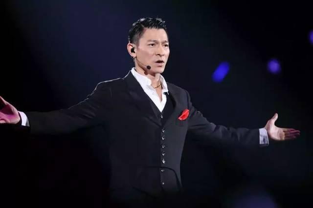 不老男神刘德华世界巡回演唱会图片