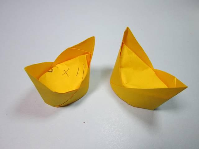 2分钟学会金元宝的折法,简单的元宝手工折纸教程