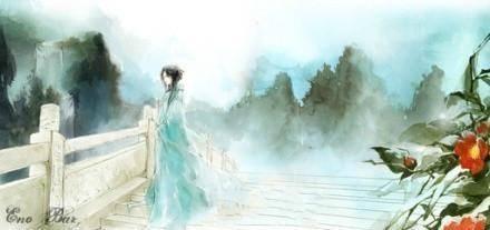唯美古风|三生桃花绘成扇,细雨落花人独看,唱不尽,相思阙