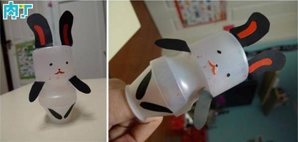 教你用瓶子制作小动物玩具