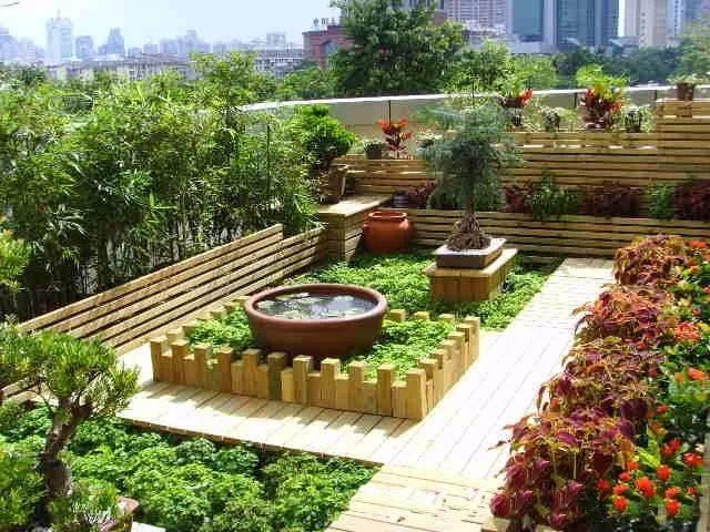 2. 空中花园图片