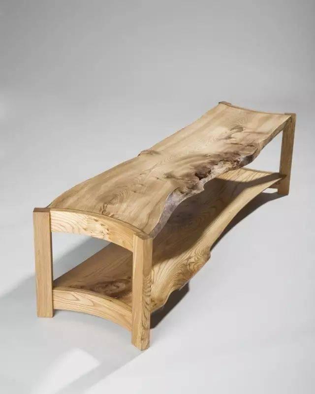 别再小瞧残缺木材啦,用它做家具堪比工艺品!图片