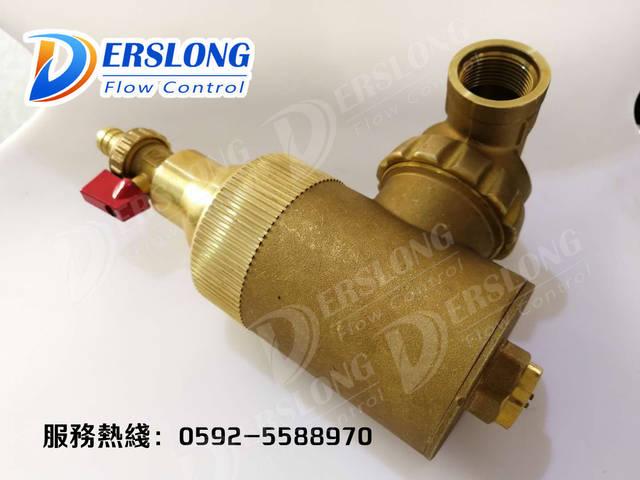 地暖壁挂炉专用 磁性除污器 微泡排气阀 螺旋除渣器图片