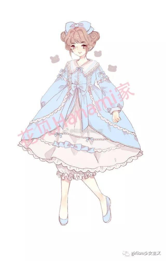 梦惊蛰lolita原创设计图片