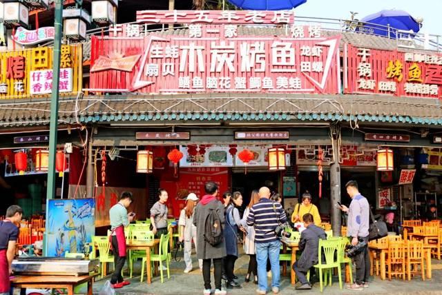 乐山这条美食街不被遗忘!特色图片蚌埠小吃美食图片