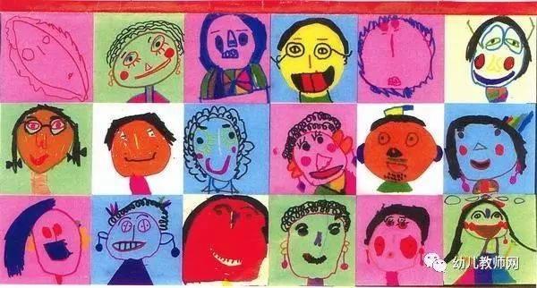 三八节,带孩子画不一样的妈妈图片