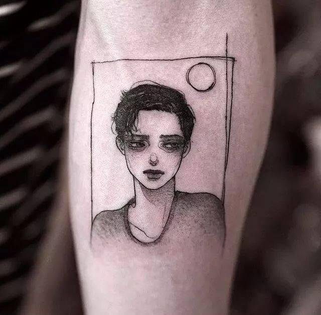 """""""失业""""了一整个冬天的纹身师,终于在这个春天找回了自尊.图片"""