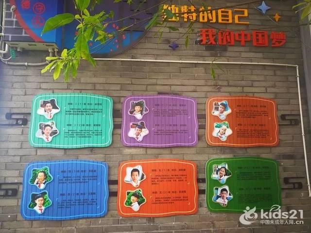 """""""我的中国梦""""主题墙布置"""